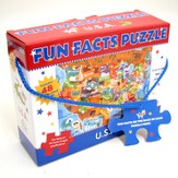 Fun Facts Puzzle, U.S.A.