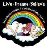 Live Dream Believe Notepad