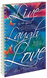 Live Laugh Love Notebook