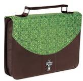 Bible Cover, Green, Large