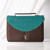 Bible Cover, Blue, Large