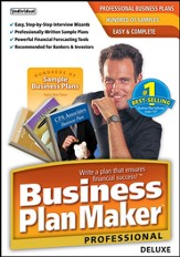 Business PlanMaker Professional Deluxe 9 CD-Rom