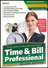 Time & Bill Professional Deluxe Edition CD-Rom
