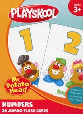 Playskool Jumbo Numbers, 26 Flash Cards