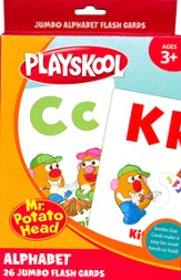 Playskool Jumbo Alphabet, 26 Flash Cards