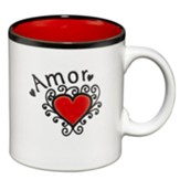 Amor, Taza, Rojo (Love Mug, Red)