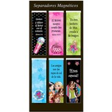 Little Miss Grace, Marcadores De Libros Magnéticos  (Little Miss Grace, Magnetic Bookmarks)