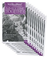Walk With Jesus Family Time Together Booklet, package of 10