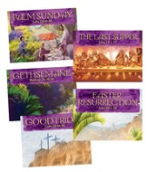 Walk With Jesus Collector Cards, 50 sets of 5