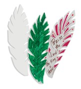 Praise for Jesus Palms, package of 50 - Slightly Imperfect
