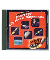 Blast Off Clip Art & Resources CD