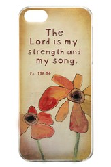 The Lord Is My Strength, iPhone 5, 5S Cover