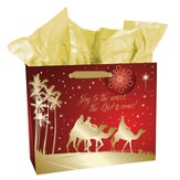 Joy To the World Gift Bag, Large