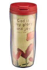God Is My Glory and Joy Travel Mug
