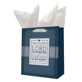 The Plans Of the Lord Stand Firm Forever Gift Bag, Medium