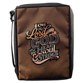 Love the Lord Your God Bible Cover, Large