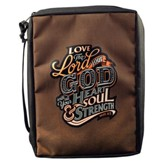 Love the Lord Your God Bible Cover, Medium