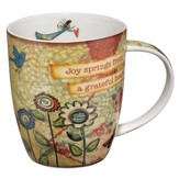 Joy Springs from a Grateful Heart Mug
