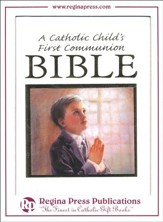 A Catholic Child's First Bible - Boy's Communion Edition