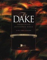 KJV Dake Annotated Reference Bible, Large Print, Hardcover