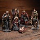 Elegant Nativity Set 7 Pieces