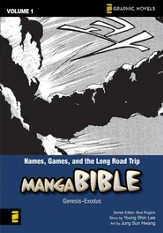 #1: Names, Games, and the Long Road Trip, Manga Bible, Volume 1