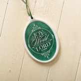 Joy To the World, Oval Ornament
