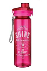 Let Your Light Shine Water Bottle