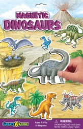 Magnetic Dinosaurs Playset