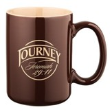 Jer 29:11 Journey Mug, Brown