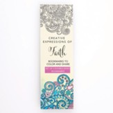 Coloring Bookmarks, Blue