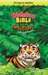The NIrV Adventure Bible: Book of Devotions