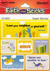 Stickers: Super Service