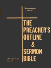 The Preacher's Outline & Sermon Bible: KJV Deluxe Deuteronomy, (Volume 7) Ring Binder