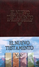 NT en Cuatro Versiones: New Testament, Four Versions, Hardcover