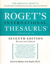 Roget's International Thesaurus, Seventh Edition