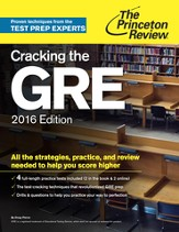 Cracking the GRE, 2016 Edition - eBook