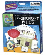 Fingerprint Files Kit (12 collection cards)