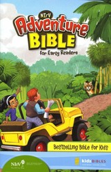 NIrV Adventure Bible for Early Readers, Updated, Hardcover