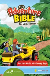 NIrV Adventure Bible for Early Readers, Updated, Softcover  - Slightly Imperfect