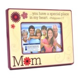 Mom Photo Frame, Philippians 1:7