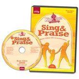 KidsOwn Worship Sing & Praise DVD (bundled with KidsOwn Worship), Summer 2015