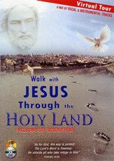 Walk with Jesus Through the Holy Land: An Audio/Video Pilgrimage, DVD and CD (Vocal and Instrumental Music)