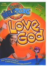 God Rocks! BibleToons: Love God, CD-ROM/DVD Curriculum