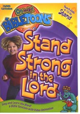 God Rocks! BibleToons: Stand Strong in the Lord, CD-ROM/DVD  Curriculum