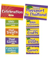 Thailand Trek VBS 2015: Station Sign Posters, Set of 10