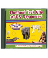 Thailand Trek VBS 2015: Clip Art & Resources CD