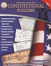 Constitutional Puzzlers--Grades 4 and Up