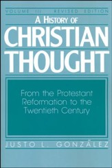 History Christian Thought Volume 3 Revised