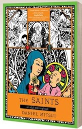 The Saints: An Adult Coloring Book